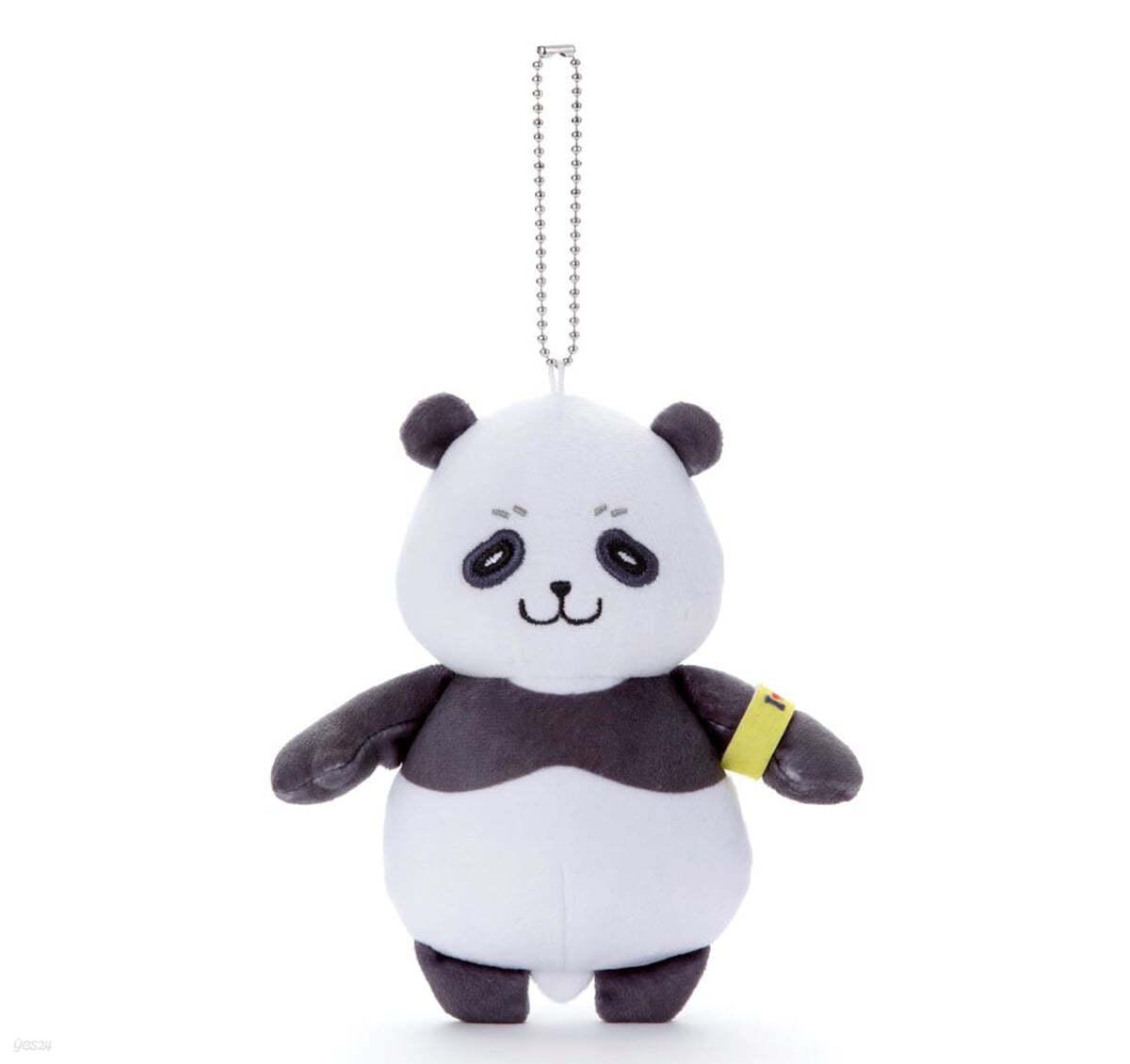 (예약도서) にとたん 呪術廻戰 ボ-ルチェ-ン付ぬいぐるみ パンダ