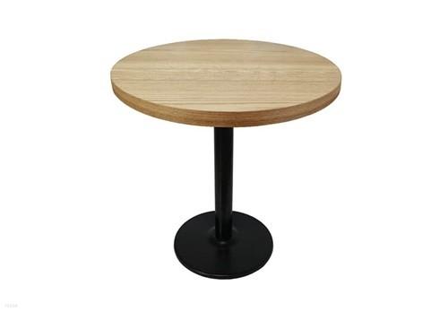 더조아가구 무늬목원형티테이블800철재3인치다리 네추럴 라운드테이블 노트북테이블 카페용테이블 티테이블 업소용테이블
