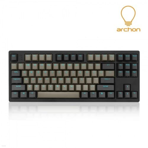 archon RE:AL GX CNC 풀 알루미늄 (블랙, 적축)