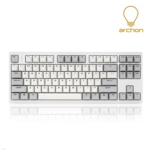 archon RE:AL GX CNC 풀 알루미늄 (화이트, 갈축)