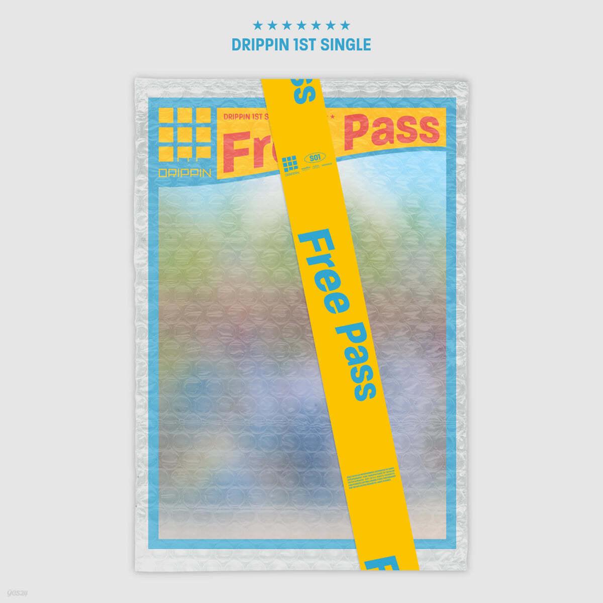 DRIPPIN (드리핀) - Free Pass [A ver.]