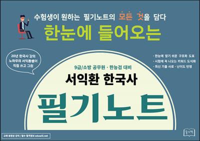 2022 서익환 한국사 필기노트