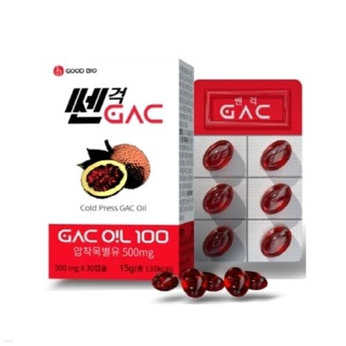 [굿바이오] 쎈걱 GAC 라이코펜 리코펜 영양제 30캡슐 (눈건강-피로회복)