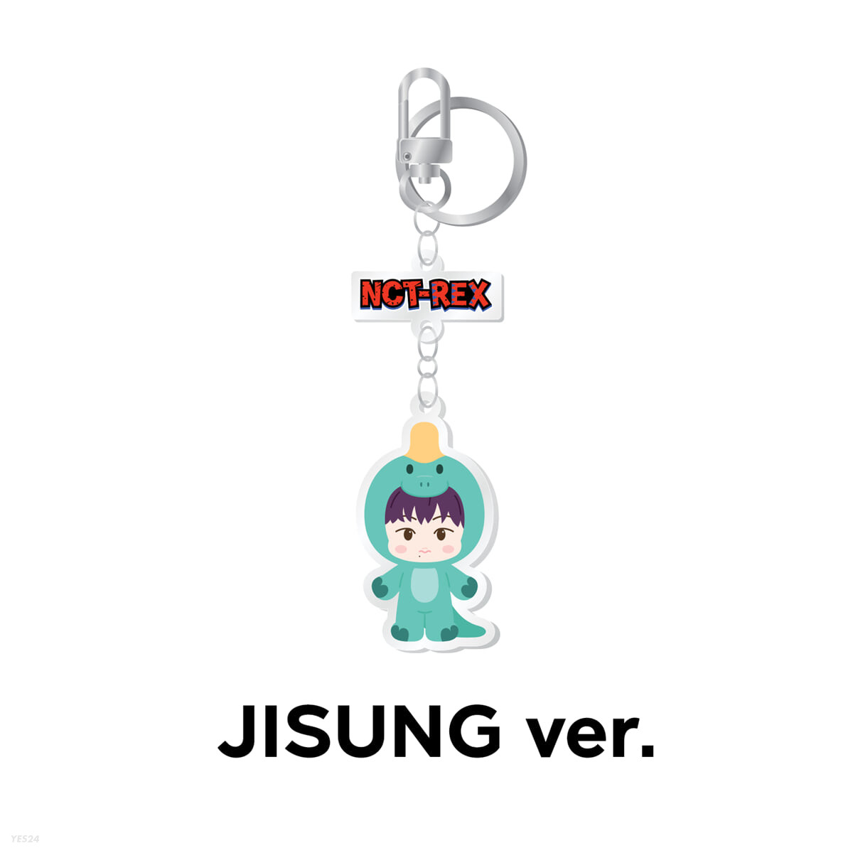 [JISUNG] ACRYLIC KEY RING - NCT DREAM X PINKFONG