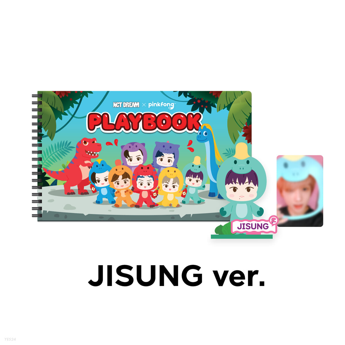 [JISUNG] PLAYBOOK SET - NCT DREAM X PINKFONG