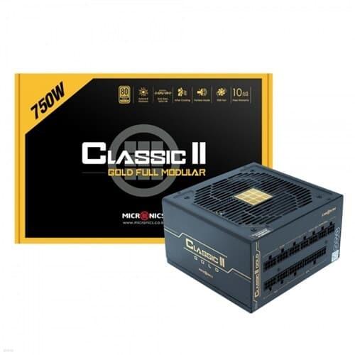 Classic II 750W 80PLUS GOLD 230V EU 풀모듈러