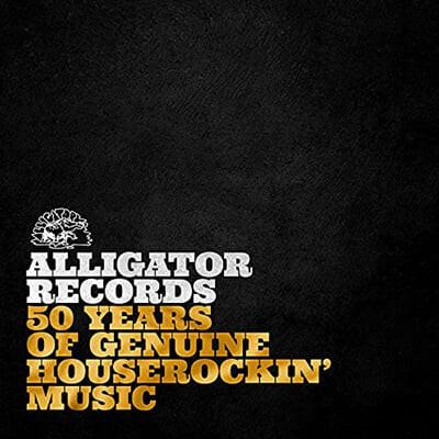 엘리게이터 레코즈 레이블 컴필레이션 (50 Years of Genuine Houserockin' Music) [2LP]