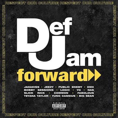 데프 잼 레이블 - 힙합 컴필레이션 (Def Jam Forward: Respect Our Culture) [2LP]