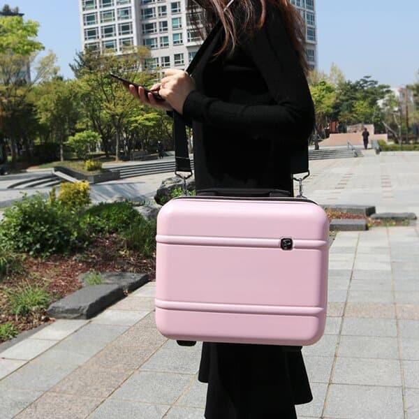 프레지던트 PAE120 핑크 캐리어 결합 서머레디백 미니백
