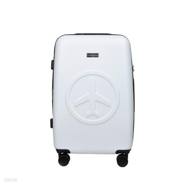 비아모노 VAGS9094 24인치 수화물용 오프화이트 캐리어 여행가방