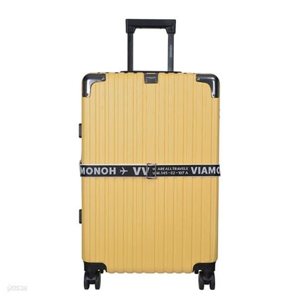 비아모노 VAIF 9036 옐로우 26인치 하드캐리어 여행가방