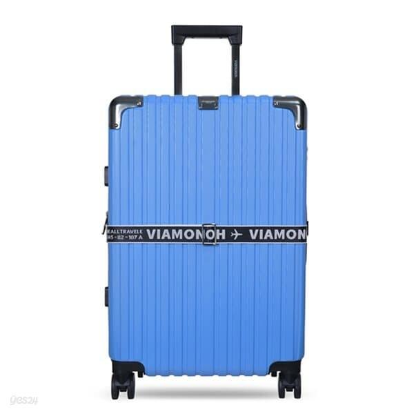 비아모노 VAIF 9036 블루 26인치 하드캐리어 여행가방