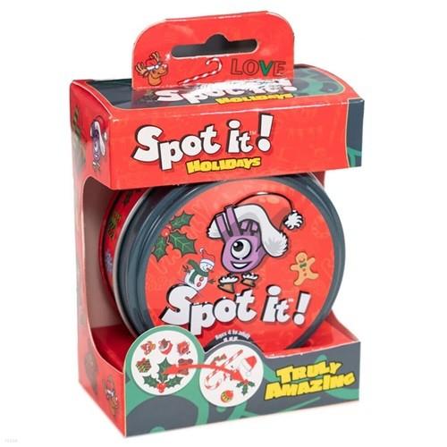 Spot it (도블) 스팟잇 홀리데이 카드게임
