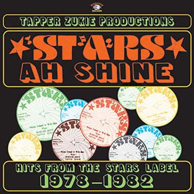 레게 음악 컴필레이션 - 태퍼 주키 프로덕션즈 (Tapper Zukie Productions - Stars Ah Shine : Stars Records 1978-1982) [LP]