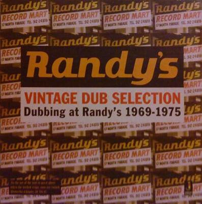 레게 음악 컴필레이션 - 빈티지 덥 셀렉션 (Vintage Dub Selection - Dubbing At Randy's 1969-1975) [LP]