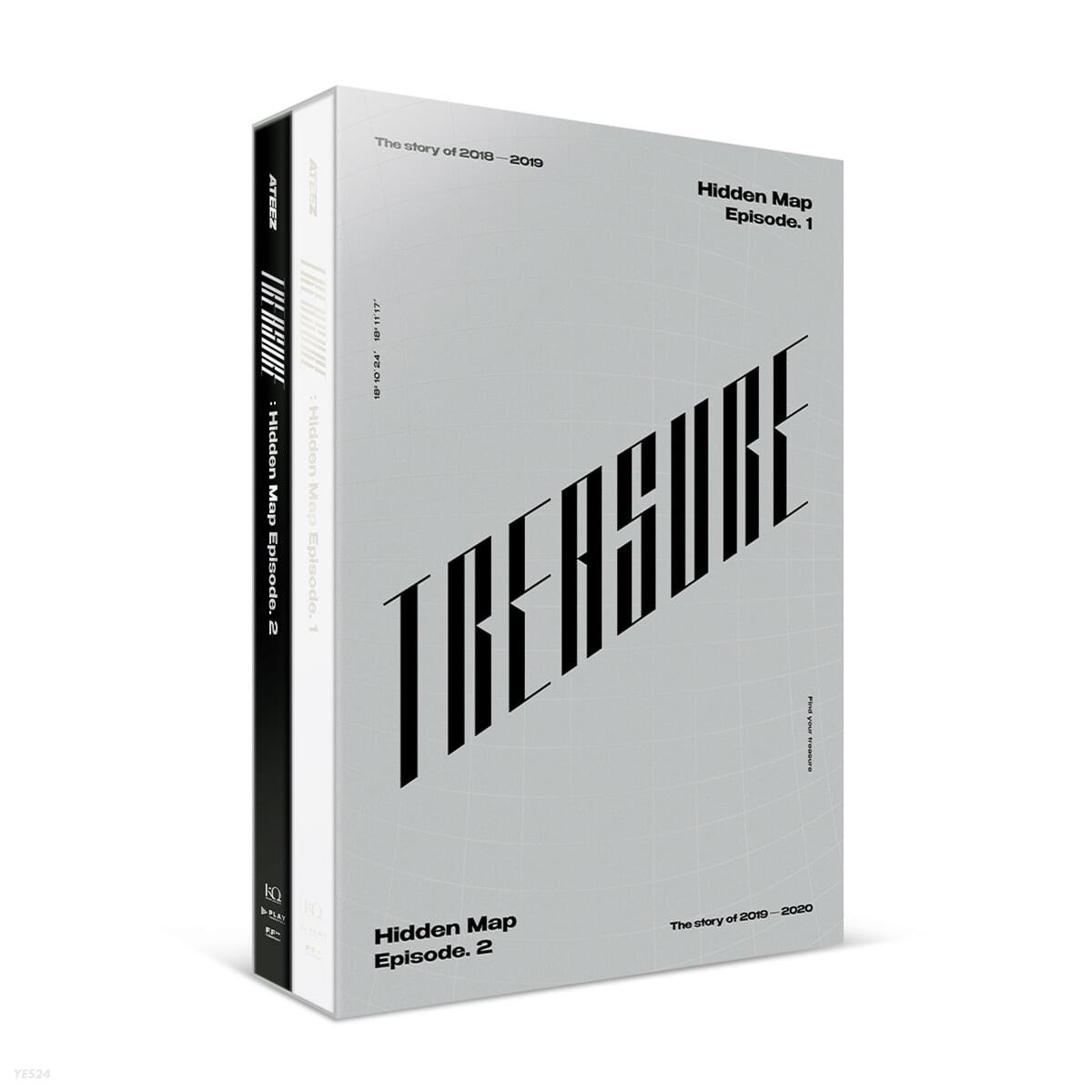 에이티즈 (ATEEZ) - ATEEZ TREASURE : Hidden Map Package