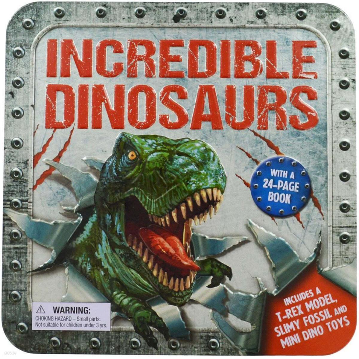 [틴케이스] 놀라운 공룡 하비틴 Incredible Dinosaurs (Hobby Tin)