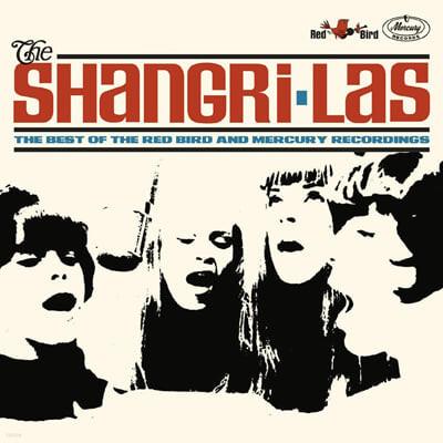 The Shangri-Las (샹그리-라스) - Red Bird / Blue Cat Records [투명 & 블랙 소용돌이 컬러 2LP]