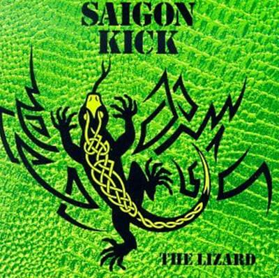 Saigon Kick (사이공 킥) - The Lizard [그린 마블 컬러 LP]