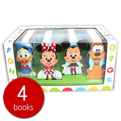 [스크래치 특가] Disney Mickys Alphabet Box 4 Set