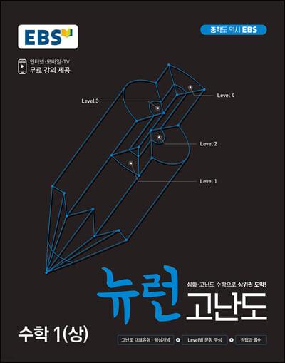 EBS 중학 뉴런 고난도 수학 1(상) (2021년)