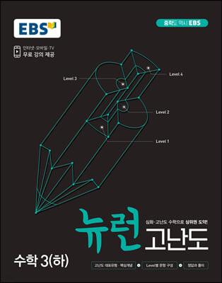 EBS 중학 뉴런 고난도 수학 3(하) (2021년)
