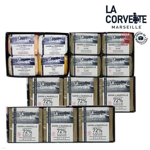마르세유 올리브 천연비누100gx4+200gx6+P100gx4(B)