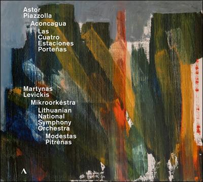 Martynas Levickis 피아졸라: 관현악, 협주곡 작품집 - 아콩카과, 항구의 사계 (Piazzolla: Aconcagua)