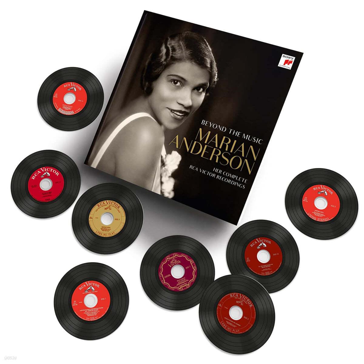 마리안 앤더슨 RCA 녹음 전집 (Marian Anderson - Beyond the Music: Her complete RCA Victor Recordings)
