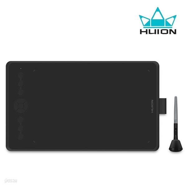 [휴이온] 정품 INSPIROY H320M 펜 타블렛 - 쿼츠블랙