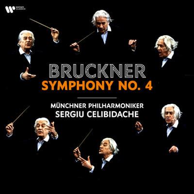 Sergiu Celibidache 브루크너: 교향곡 4번 (Bruckner: Symphony No.4 'Romantic') [2LP]