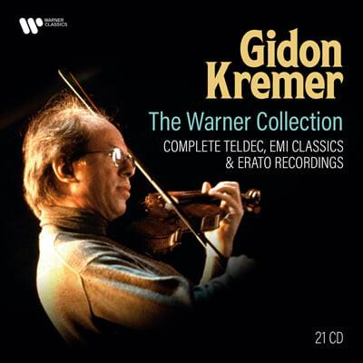 기돈 크레머 워너 녹음 전집 (Gidon Kremer - The Warner Collection : Complete Teldec, EMI Classics & Erato Recordings)