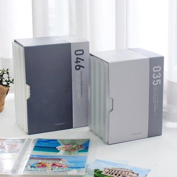 [1+1]비팬시 이지 더블 포켓 앨범 4x6 (사진앨범 포켓식 가족 웨딩 커플)