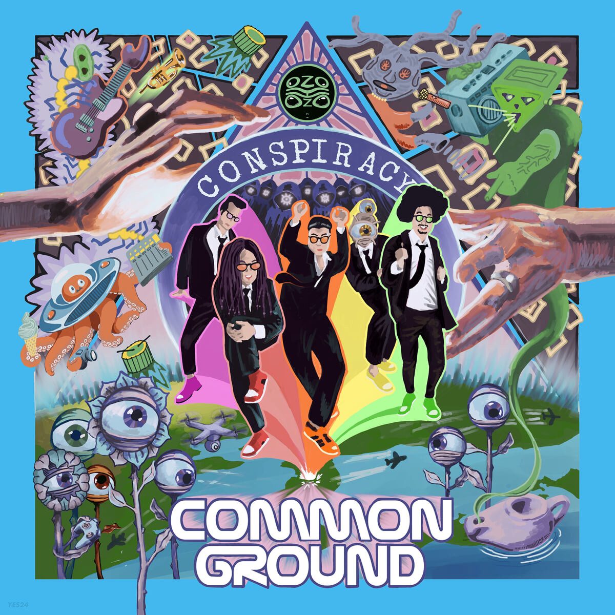 커먼 그라운드 (Common Ground) 5집 - Conspiracy