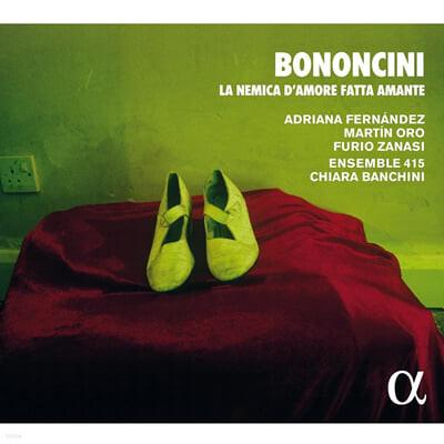 Chiara Banchini 보논치니: 연인들의 사랑의 적 (Giovanni Battista Bononcini: La Nemica d'Amore fatta Amante)
