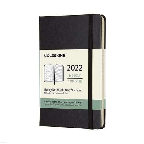 [메모지GIFT+10%할인][몰스킨] 2022년 위클리 다...
