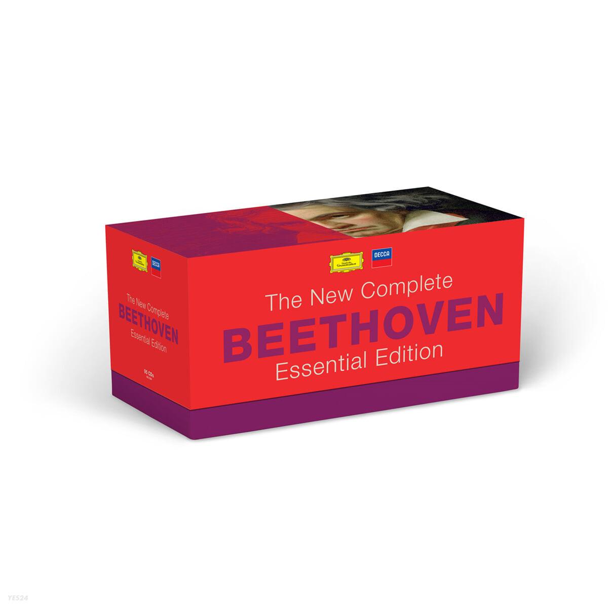 베토벤 작품 전집 (BEETHOVEN - The New Complete Essential Edition)