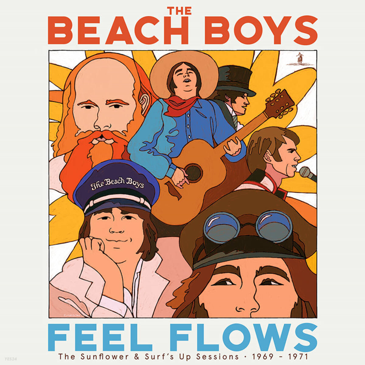 The Beach Boys (비치 보이스) - Feel Flows: The Sunflower & Surf's Up Sessions 1969-1971 [2LP]