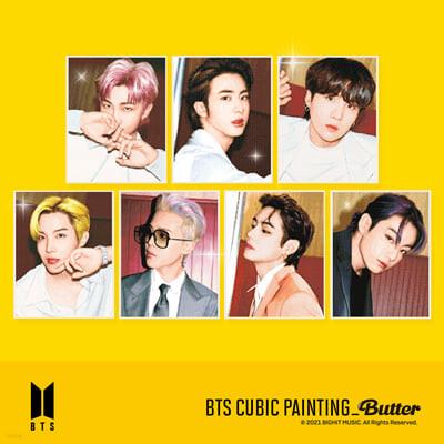 방탄소년단 (BTS) - DIY 큐빅 페인팅 Butter [Jin]