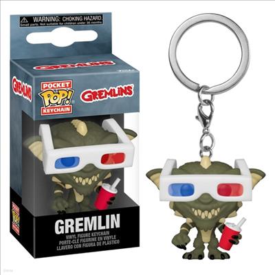 Funko - (펀코)Funko Pop! Keychain: Gremlins-Gremlin With 3d Glasses (그렘린)