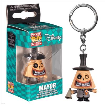 Funko - (펀코)Funko Pop! Keychain: Nightmare Before Christmas- The Mayor (크리스마스의 악몽)