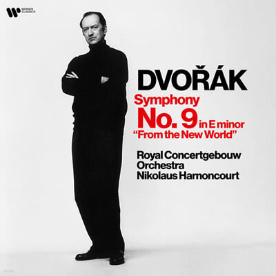 Nikolaus Harnoncourt 드보르작: 교향곡 9번 '신세계로부터' - 아르농쿠르 (Dvorak: Symphony Op.95)[LP]