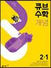 큐브수학 개념 초등 수학 2-1 (2022년)