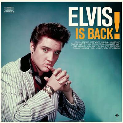 Elvis Presley (엘비스 프레슬리) - Elvis Is Back! [LP + 오렌지 컬러 7인치 Vinyl]