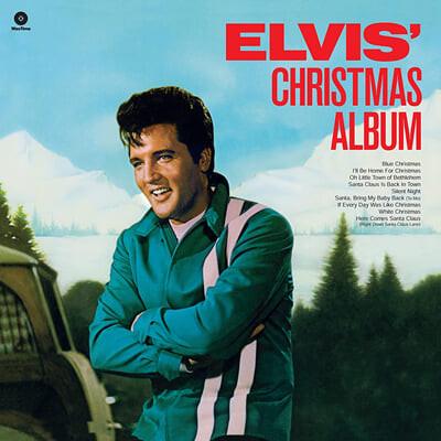 Elvis Presley (엘비스 프레슬리) - Elvis' Christmas Album [화이트 컬러 LP]