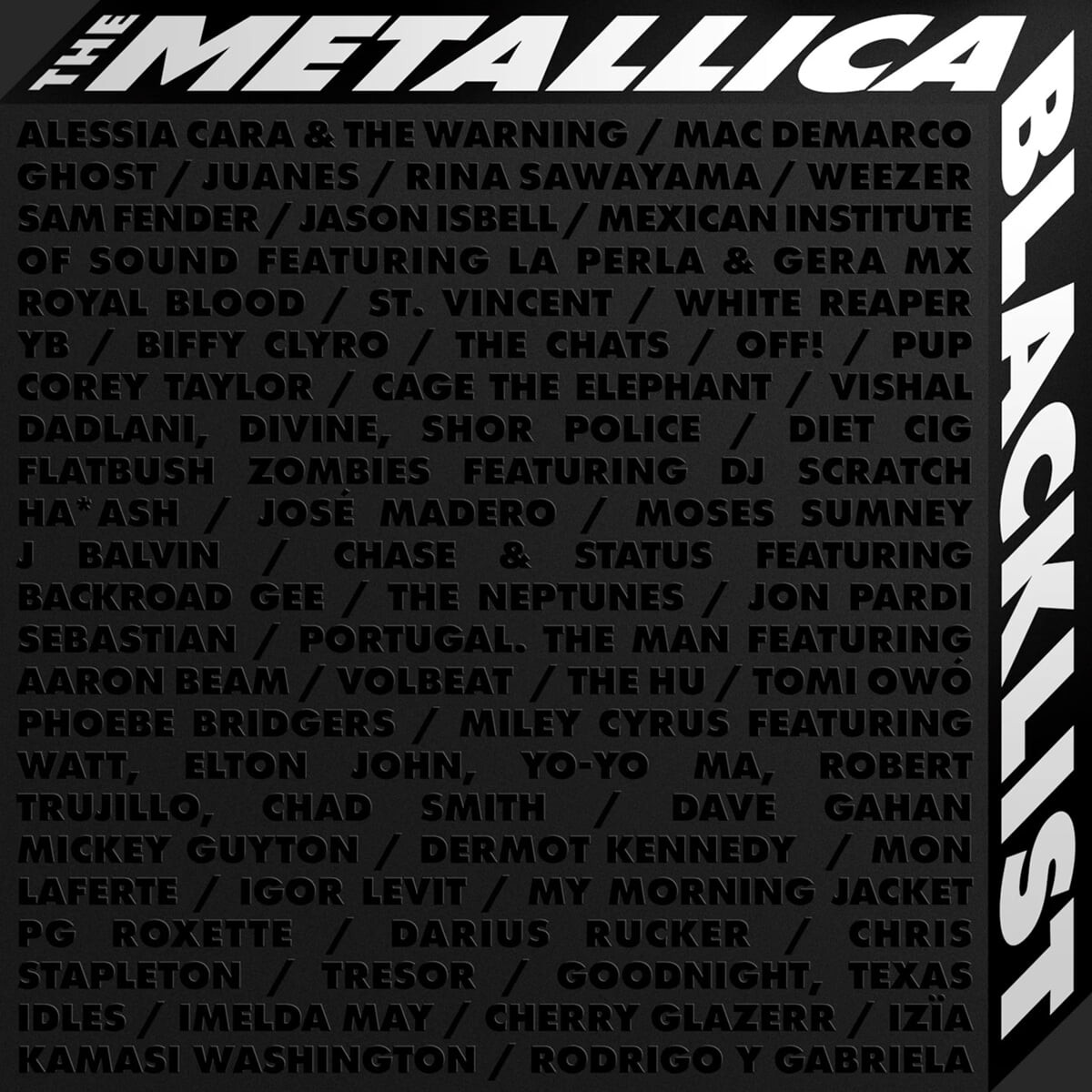 Metallica (메탈리카) - 발매 30주년 기념 프로젝트 앨범 The Metallica Blacklist