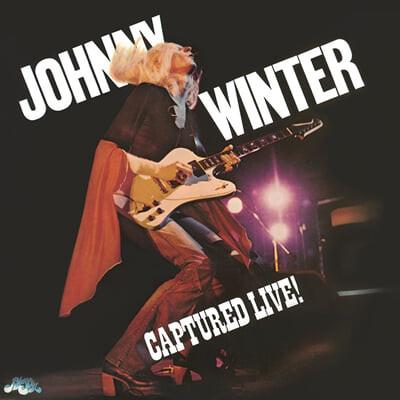 Johnny Winter (조니 윈터) - Captured Live! [LP]