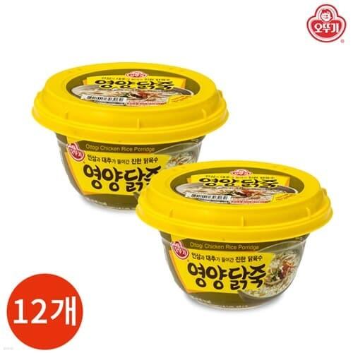 오뚜기 영양닭죽 285g x 12개