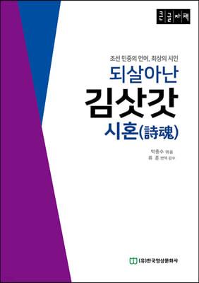 되살아난 김삿갓 시혼(詩魂) 큰글자책
