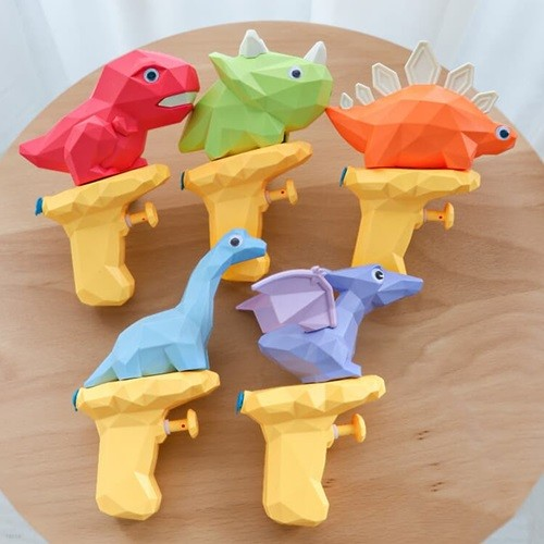키저스 리틀 다이노 워터건 공룡 물총 아기 유아 목욕놀이 물놀이 장난감